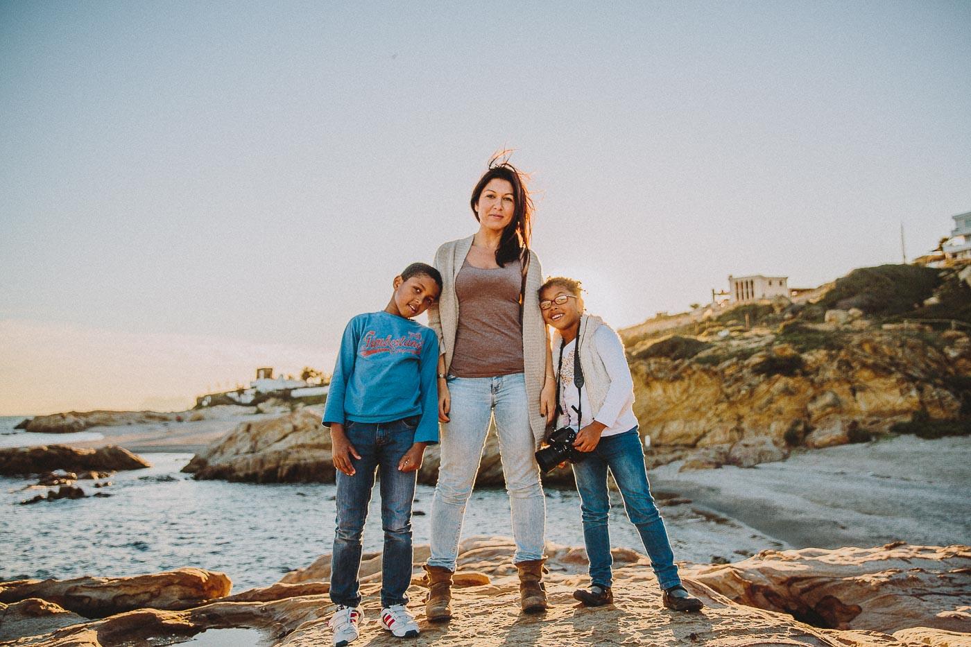 Sesión de Familia en la Playa Cádiz