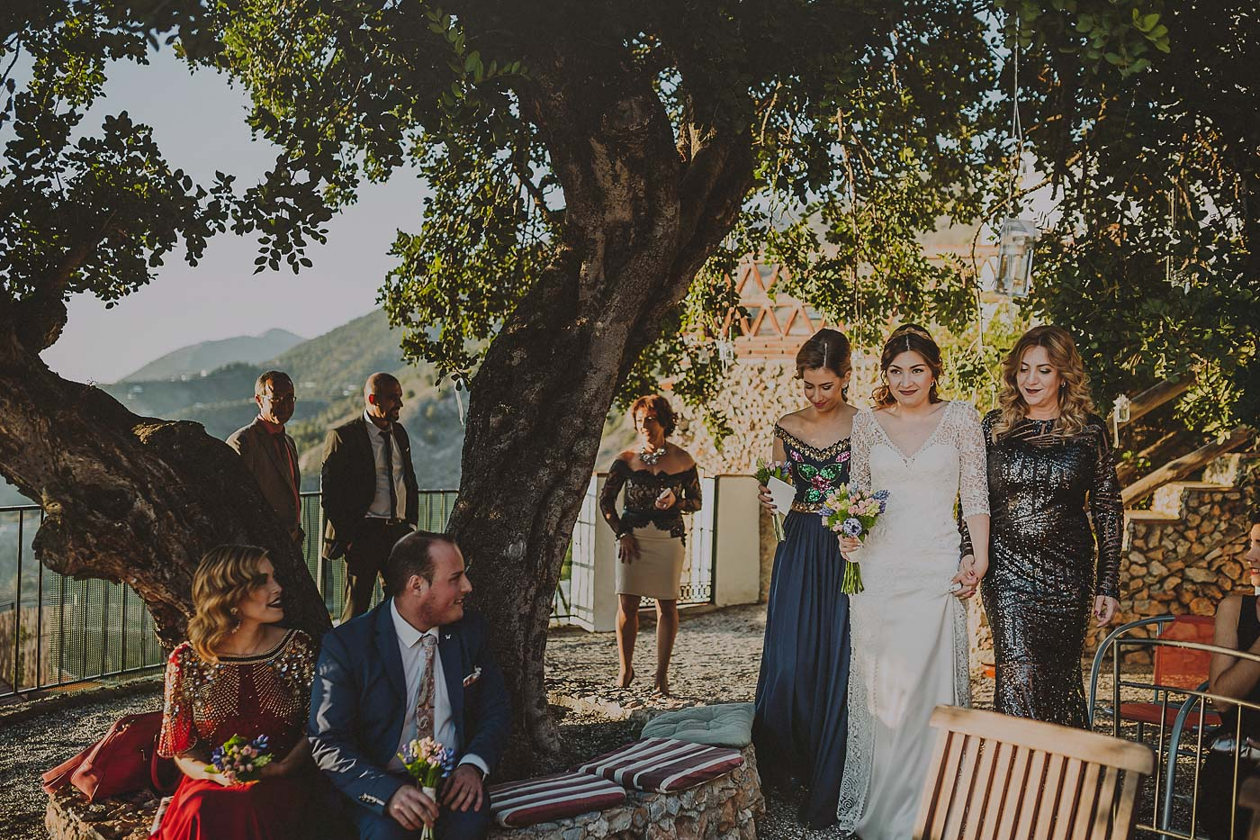 Boda en Frigiliana Ceremonia
