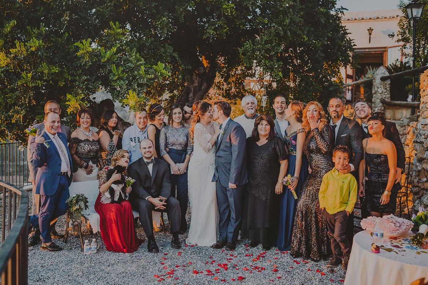 Boda en Frigiliana Familia