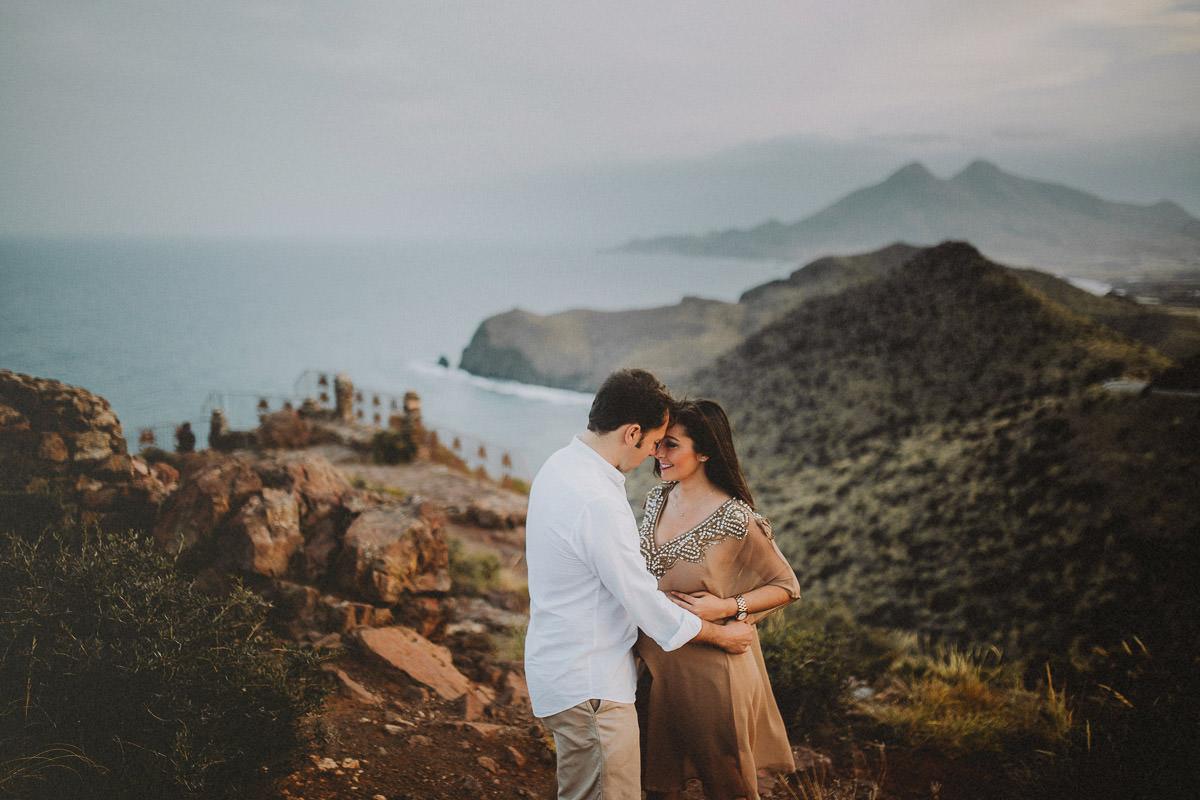 Sesión de embarazo en Almería