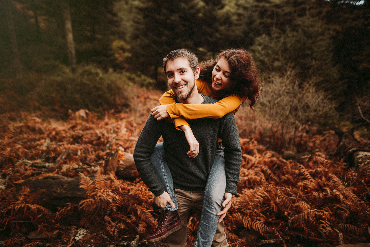 engagement in the forest