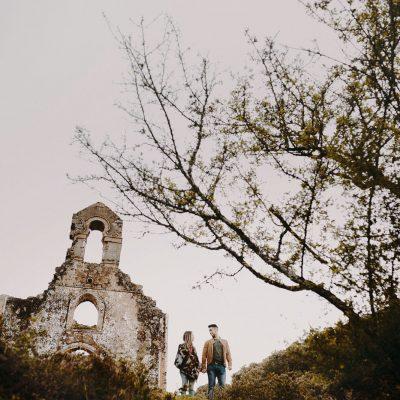 boda en iglesia abandonada